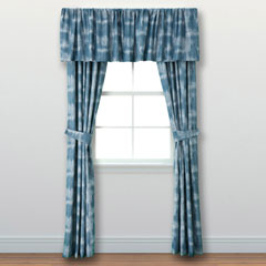 Indigo Ombre Window Treatment