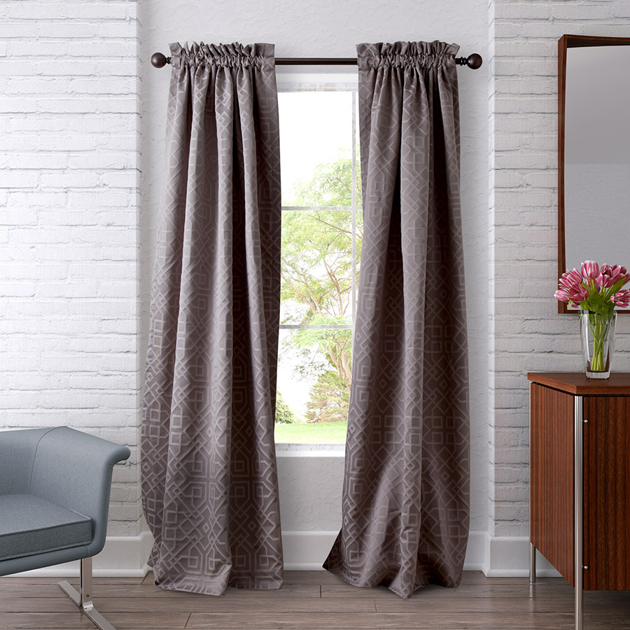Pair of Drapes 54 x 108 Heritage Landing Ironwork
