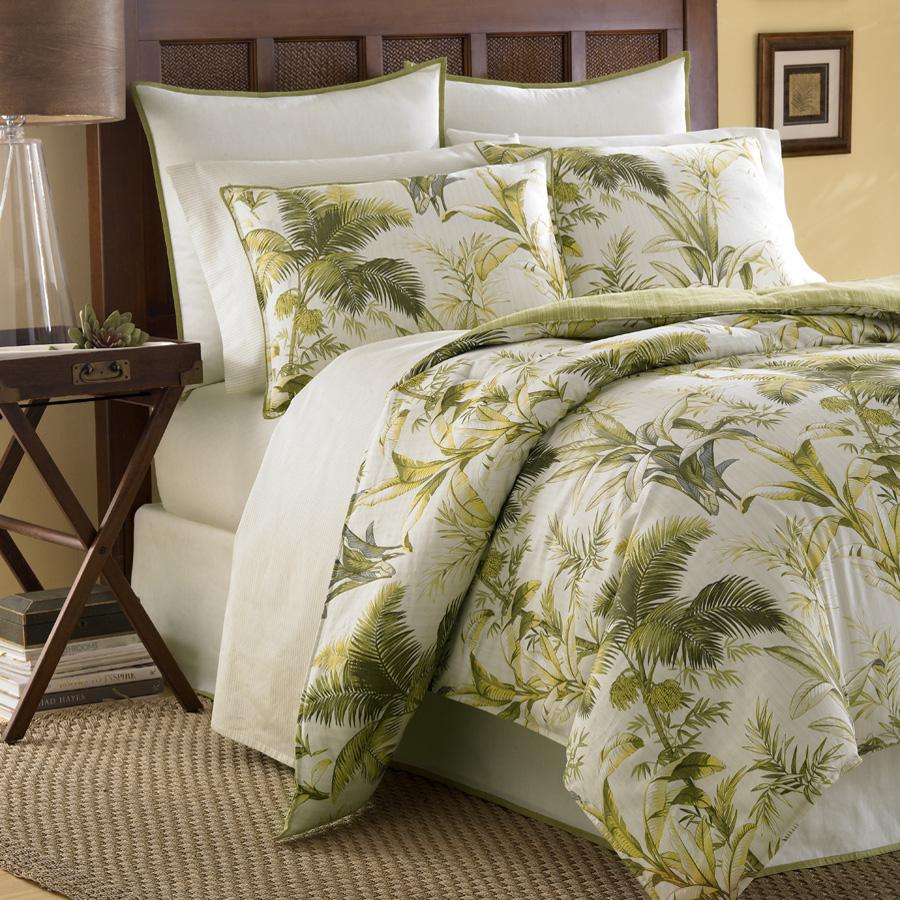 Tommy Bahama Island Botanical Comforter Set From
