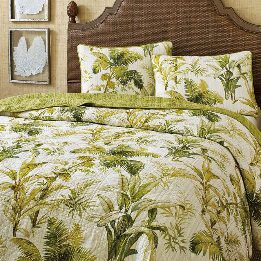 Tommy Bahama Island Botanical Quilt From Beddingstyle Com