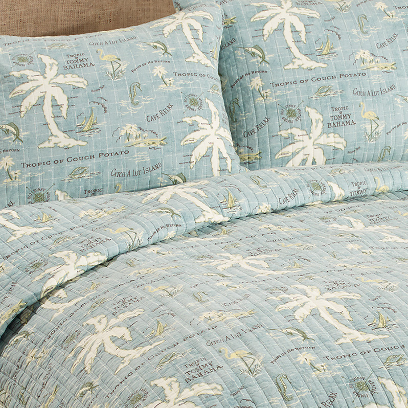 Tommy Bahama Island Song Quilt Set From Beddingstyle Com