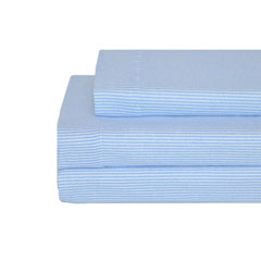 Ithaca Stripe Flannel Sheet Set