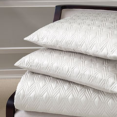 Ivory Coverlet Set