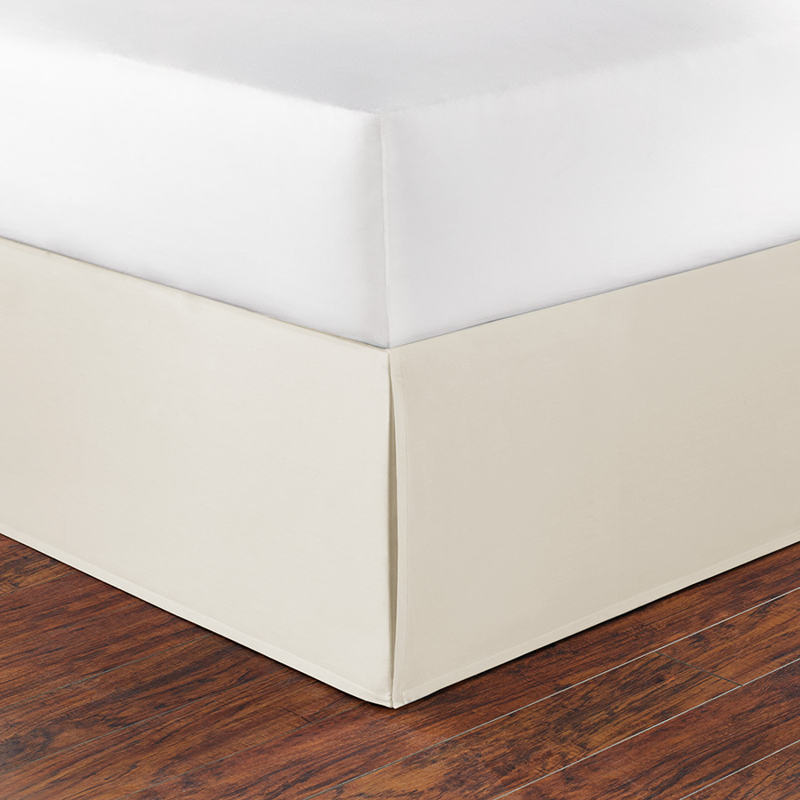 King Bedskirt Nautica Solid Ivory