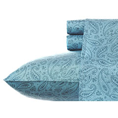 Jacob Paisley Blue Sheet Set