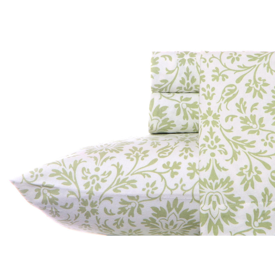 Twin Sheet Set Laura Ashley Jayden Flannel