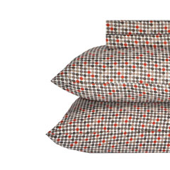 Jordan Dot Rust Sheet Set