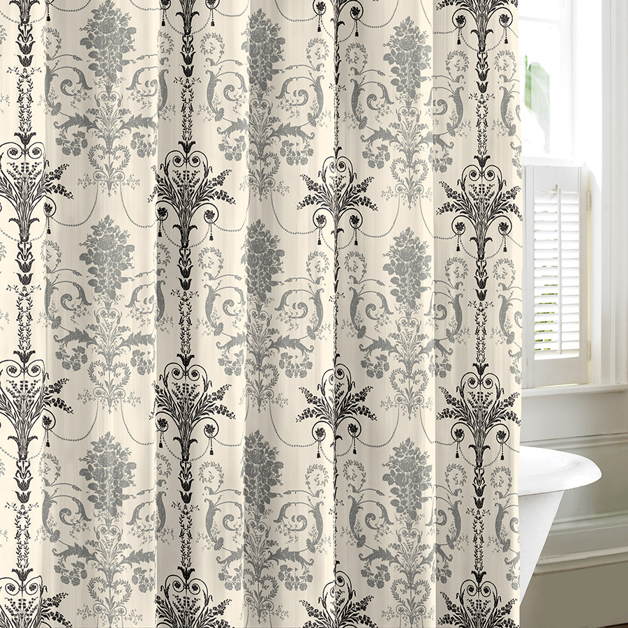 Laura Ashley Josette Shower Curtain From Beddingstyle