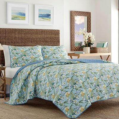 Tommy Bahama Julie Cay Quilt Set