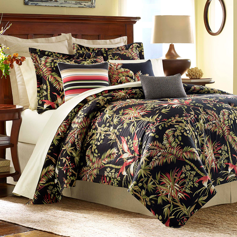 Full Queen Duvet Tommy Bahama Jungle Drive