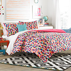 Teen Vogue Kaleidoscope Comforter Set
