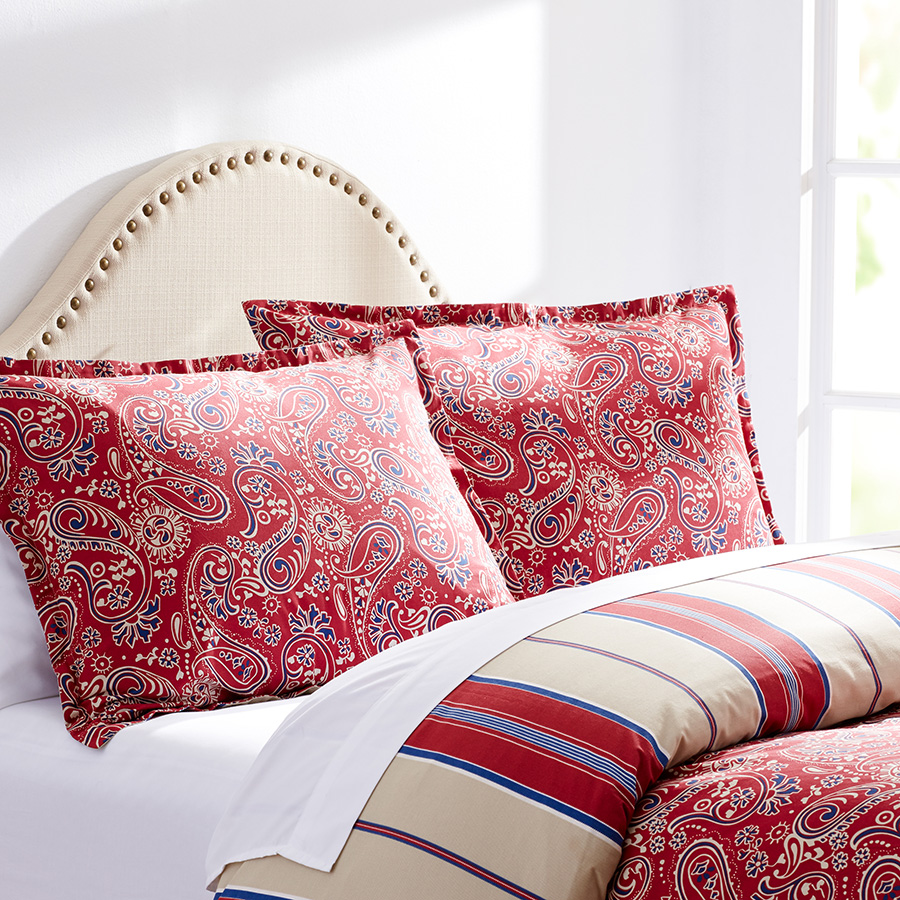 Twin Duvet Set Stone Cottage Carrin Paisley