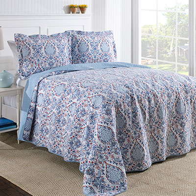 Laura Ashley Katie Quilt Set