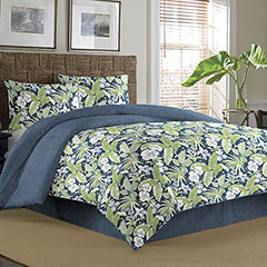 Key Largo Place Indigo Comforter & Duvet Sets