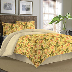 Key Largo Place Ochre Comforter & Duvet Sets