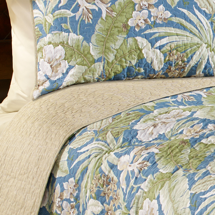 Tommy Bahama Key Largo Place Quilt Set From Beddingstyle Com