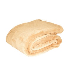 Khaki Fleece Blanket