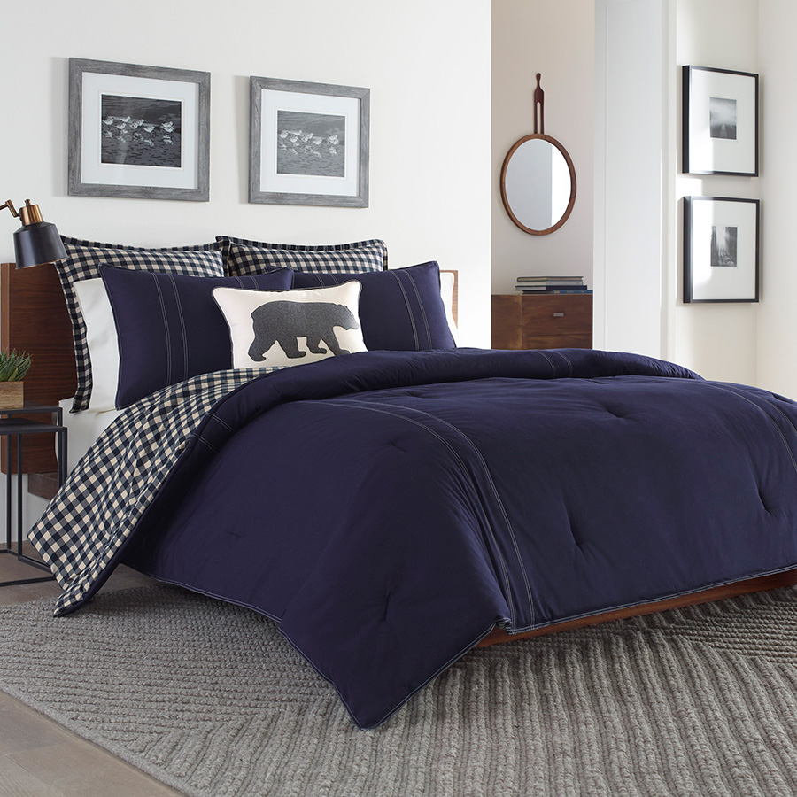 Twin Comforter Set Eddie Bauer Kingston