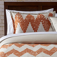 City Scene Kuro Copper Comforter & Duvet Set