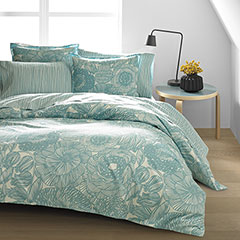 Kurjenpolvi Nile Blue Duvet Set