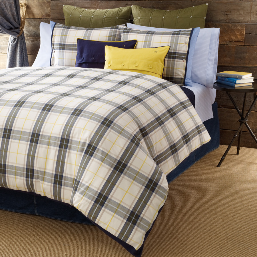 Shop Tommy Hilfiger Plaid Lake George Bedding From