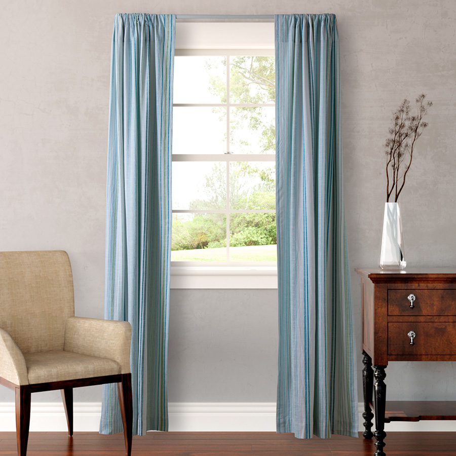 Tommy Bahama La Scala Breezer Seaglass Pair Of Drapes From