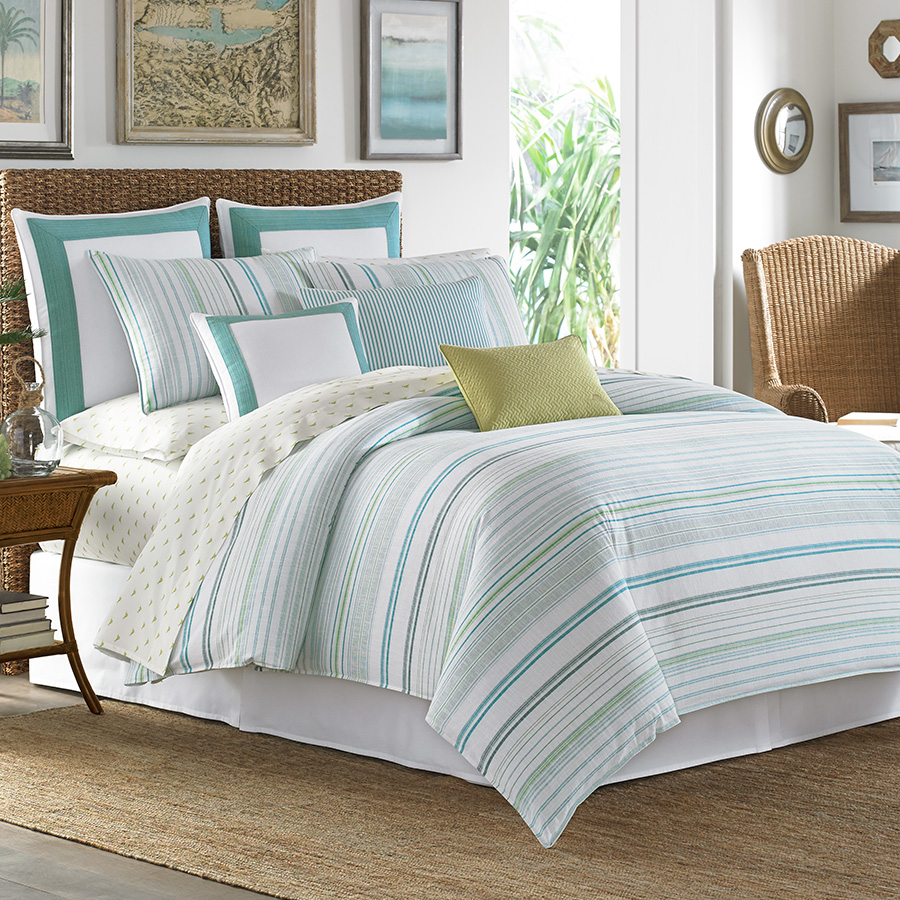 tommy bahama la scala breezer seaglass comforter and duvet set from