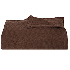 Eddie Bauer Lattice Fossil Blanket