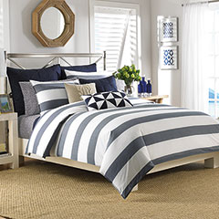 Lawndale Navy Comforter & Duvet Sets