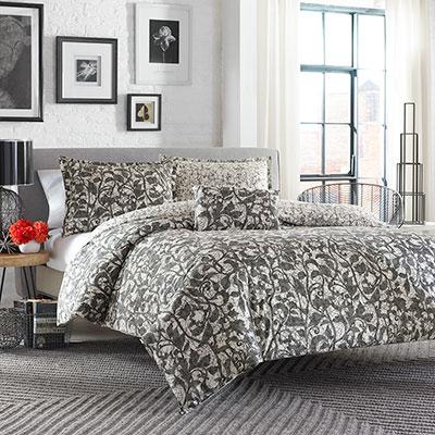 City Scene Layla Comforter And Duvet Set From Beddingstyle Com