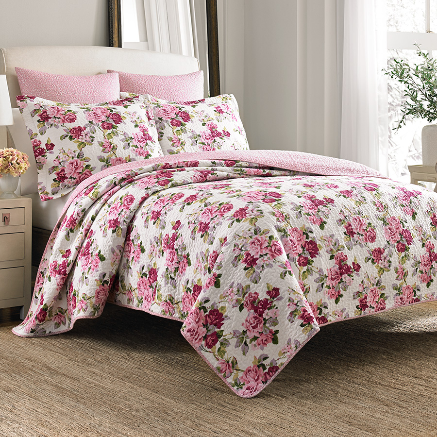 Beddingstyle Laura Ashley Lidia Quilt Set