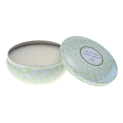 Laura Ashley Lily of the Valley Travel Tin Candle