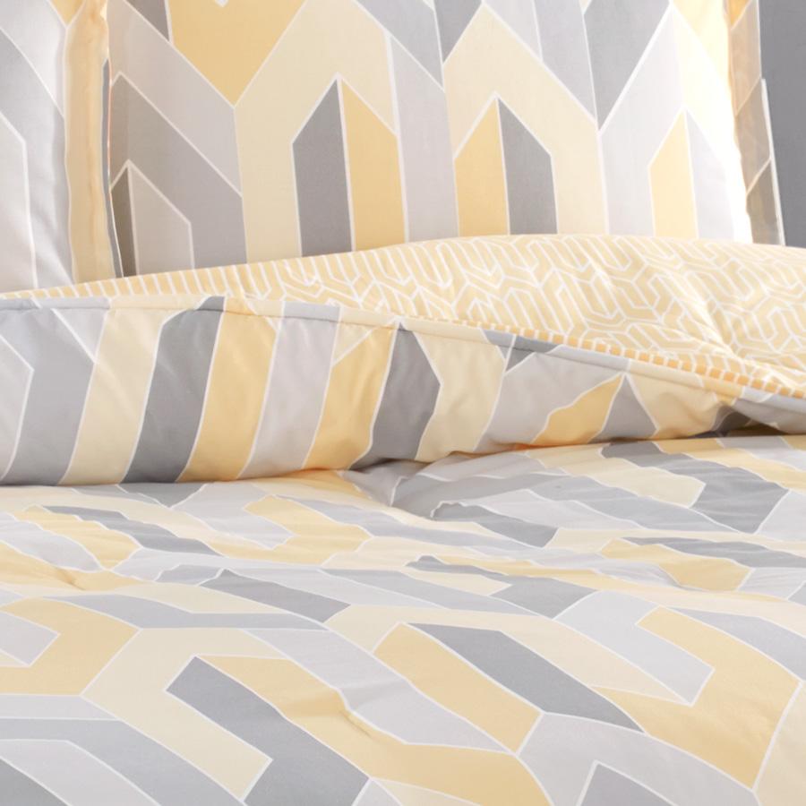 City Loft Limoncello Reversible Comforter Amp Duvet Set From