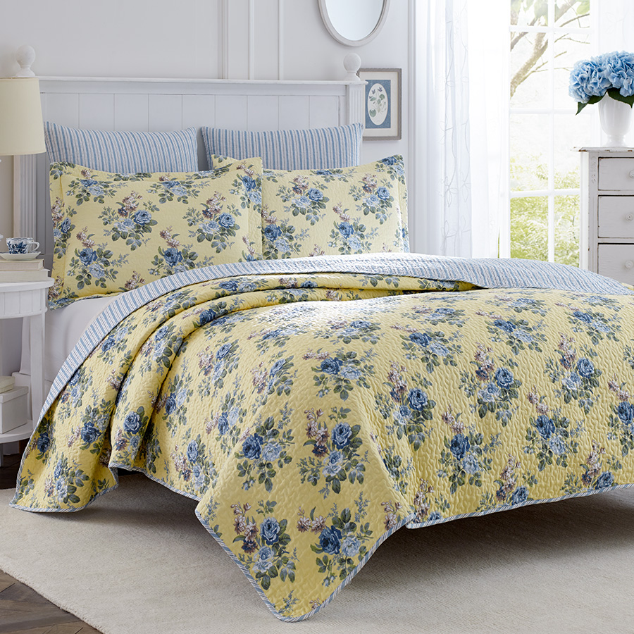 Twin Quilt Set Laura Ashley Linley