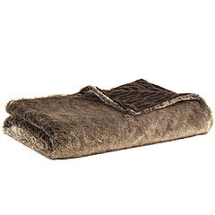 Eddie Bauer Lodge Fur Throw Blanket