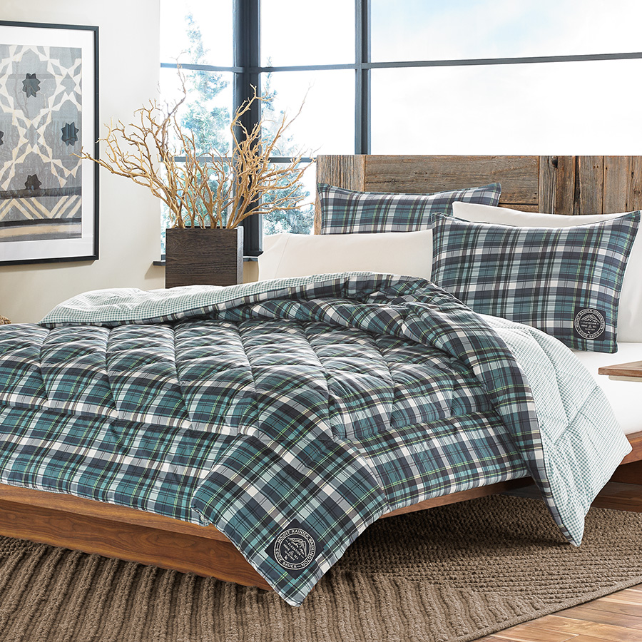 Eddie Bauer Ludlow Plaid Comfoter Set From Beddingstyle Com