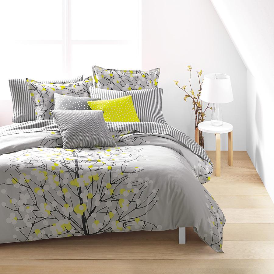 Marimekko Lumimarja Citron Duvet Set From Beddingstyle Com