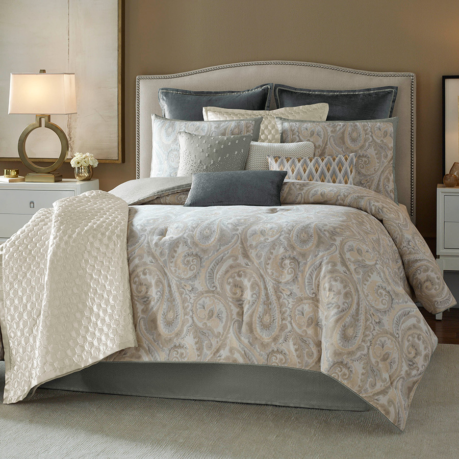 Candice Olson Lyrical Paisley Comforter Set From