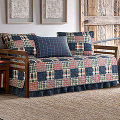 Eddie Bauer Madrona Plaid Daybed Set