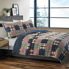 Eddie Bauer Madrona Plaid Quilt Set