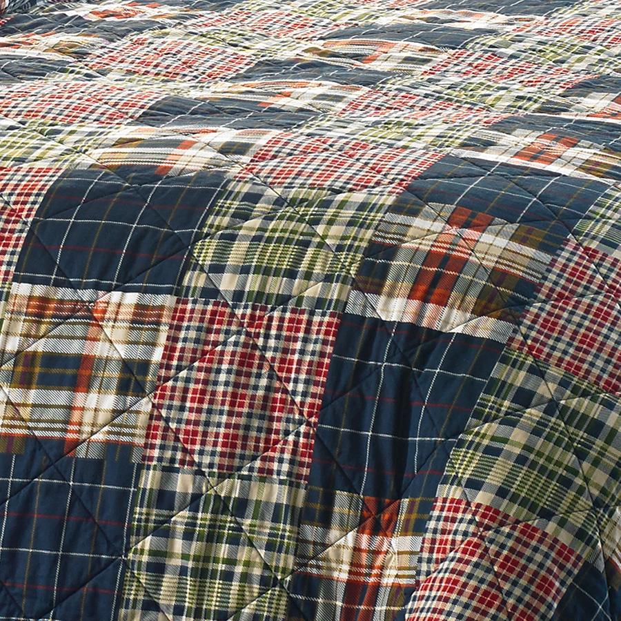 Eddie Bauer Madrona Plaid Quilt Set From Beddingstyle Com