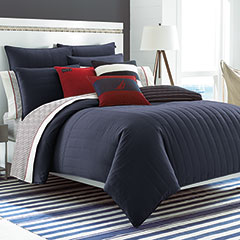 Mainsail Navy Comforter Set