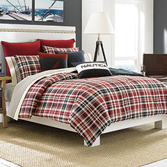 Nautica Mainsail Plaid Comforter Set