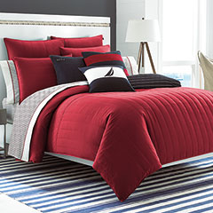 Nautica Mainsail Red Comforter Set