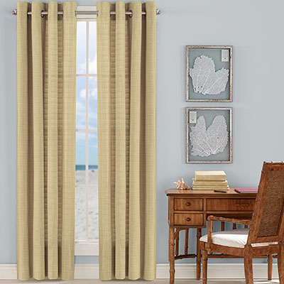 Tommy Bahama Malone Coast Sunset Yellow Drapes