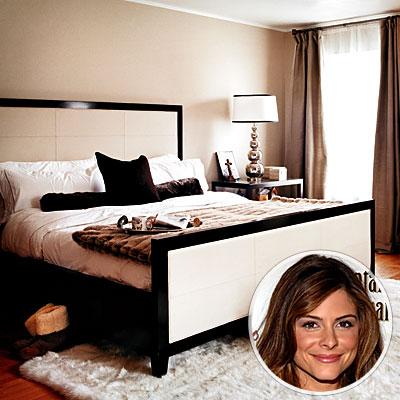 celebrity bedrooms maria menounos