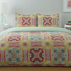 Medallion Paisley Comforter and Duvet Set