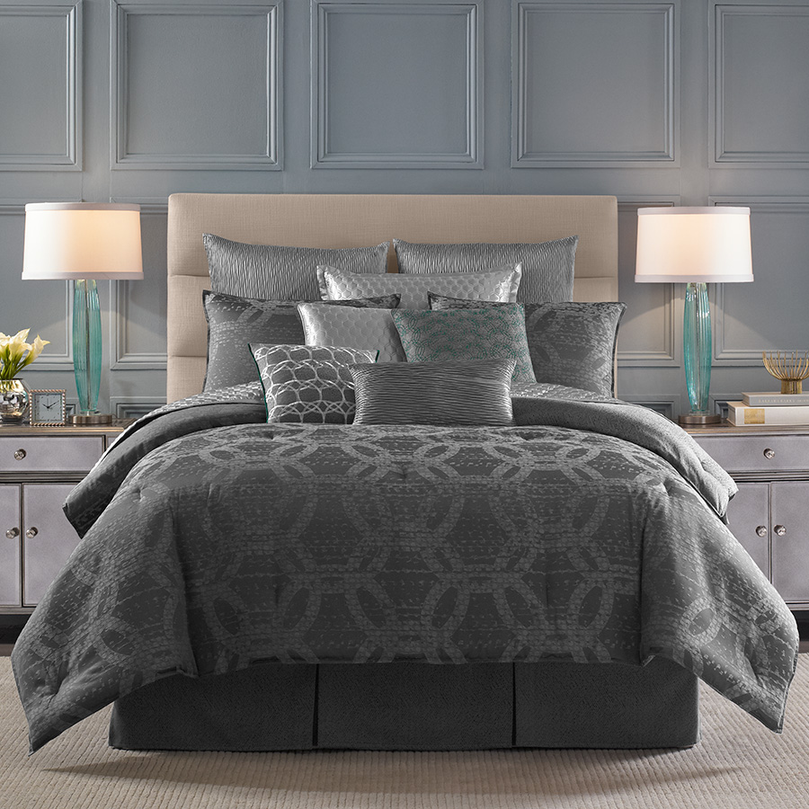 Candice olson meridian comforter set from - Bedroom sheets and comforter sets ...