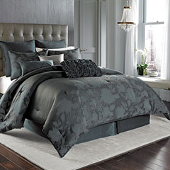 Midnight Floral Comforter Set