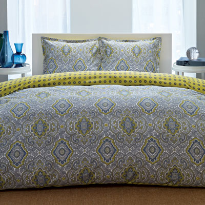 City Scene Milan Comforter and Duvet Cover Sets